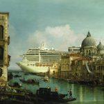 V.McIndoe illustration Venice oceanliner
