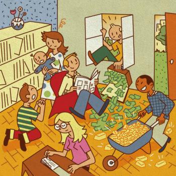 Family life Lottery win