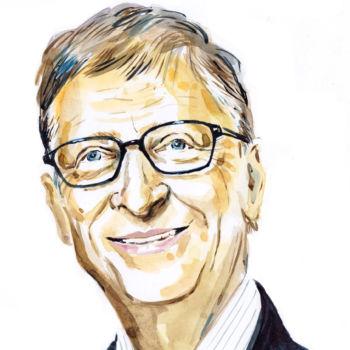 Bill Gates portrait