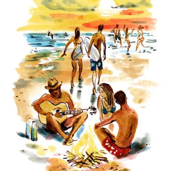 Teenage holiday