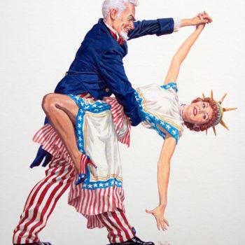 Uncle Sam & Liberty