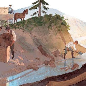 archeologist children's book