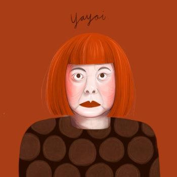yayoi kusama portrait