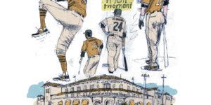 Regan Dunnick illustrates Spring Training