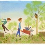 Chris O'leary children's environment book illustration